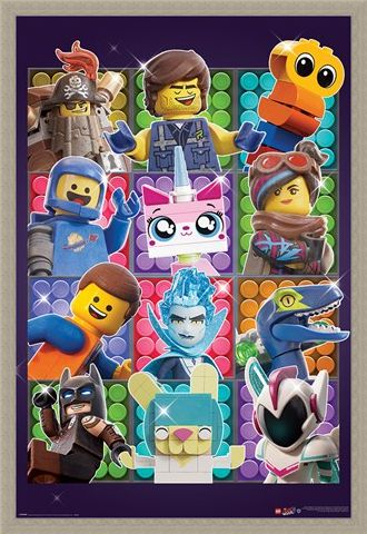 Framed Framed Some Assembly Required - The Lego Movie 2