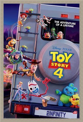 Framed Framed Adventure Of A Lifetime - Toy Story 4