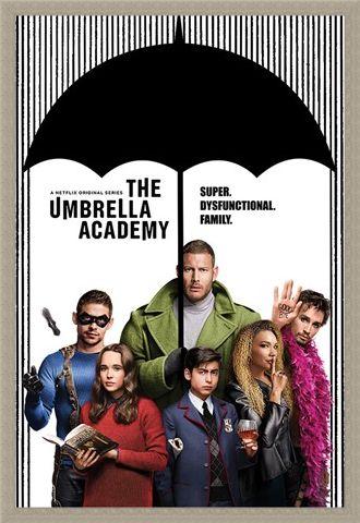 Framed Framed Super Dysfunctional Family - The Umbrella Academy