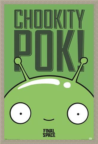 Framed Framed Mooncake Chookity Pok - Final Space