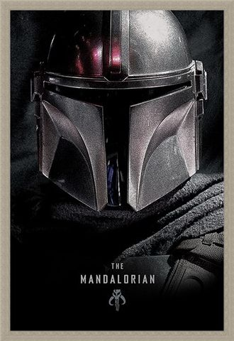 Framed Framed The Mandalorian Dark - Star Wars
