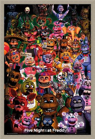 Framed Framed Ultimate Group - Five Nights at Freddy's