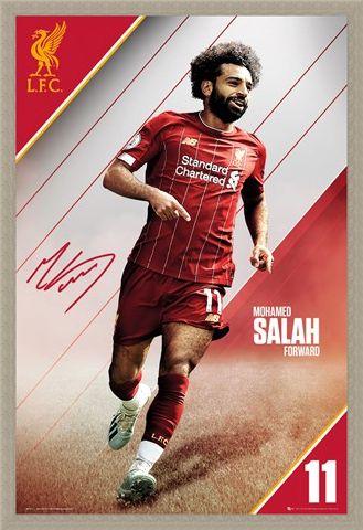 Framed Framed Salah 19-20 - Liverpool FC