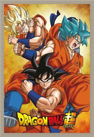Framed Framed Super Goku - Dragon Ball