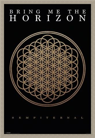 Framed Framed Sempiternal - Bring Me The Horizon