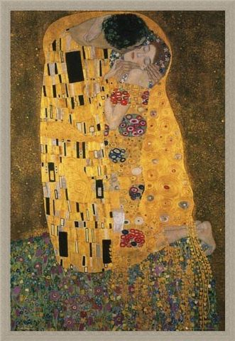Framed Framed The Kiss - Gustav Klimt