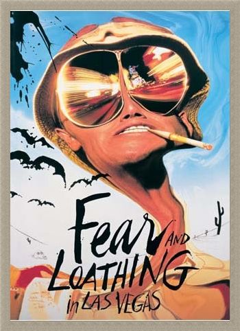 Framed Framed Johnny Depp - Fear & Loathing in Las Vegas