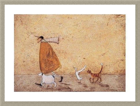 Framed Framed Ernest, Doris, Horace and Stripes - Sam Toft