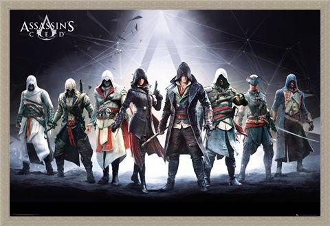 Framed Framed Character Compilation - Assassin's Creed