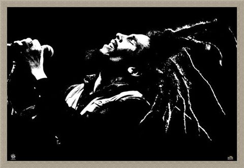 Framed Framed King of Dreads - Bob Marley