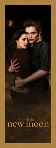 Framed Framed Edward and Bella in the Woods - Edward Cullen and Bella Swann in Twilight;New Moon