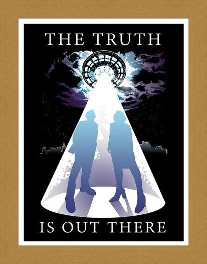 Framed Framed The Truth Is Out There Mini Poster -