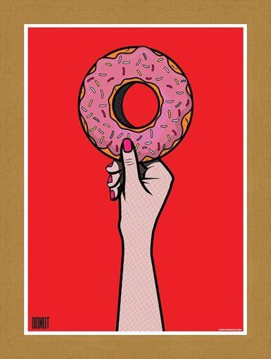 Framed Framed Sweet Treats! - Donut