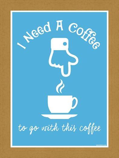Framed Framed I Need A Coffee... - Comical Caffeinated