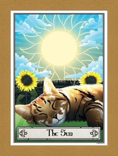 Framed Framed The Sun - Deadly Tarot Felis