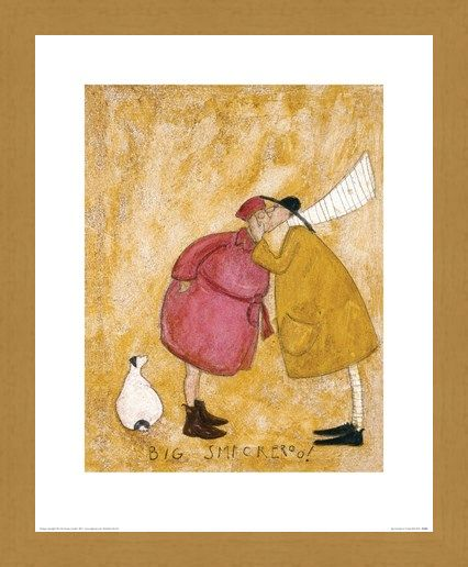 Framed Framed Big Smackeroo! - Sam Toft