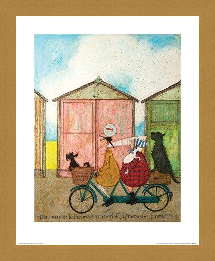 Framed Framed There may be Better Ways to Spend an Afternoon - Sam Toft