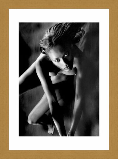 Framed Framed February, Nude Model - Bruno Bisang