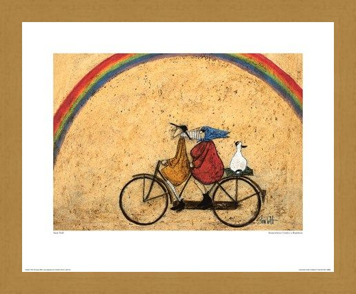 Framed Framed Somewhere Under A Rainbow - Sam Toft