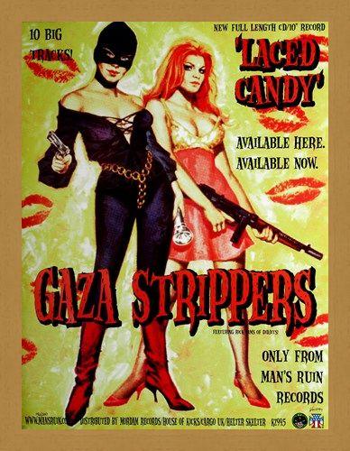 Framed Framed Gaza Strippers - Frank Kozik