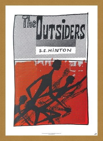 Framed Framed The Outsiders - S E Hinton