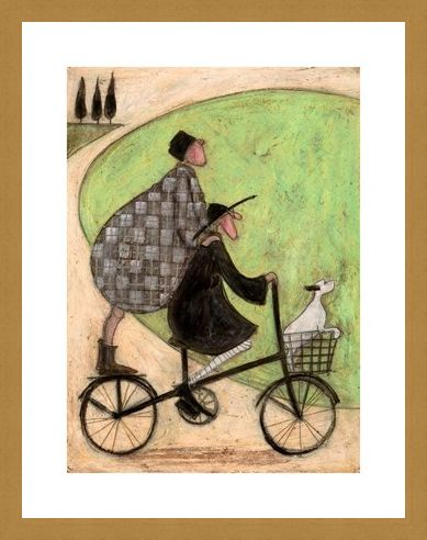 Framed Framed Double Decker Bike - Sam Toft