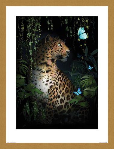 Framed Framed Leopard - Summer Thornton