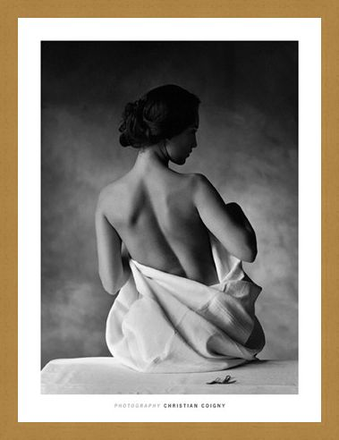 Framed Framed Modesty - Christian Coigny