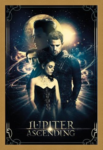 Framed Framed Jupiter Ascending - Mila Kunis and Channing Tatum