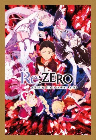 Framed Framed Key Art - Re Zero