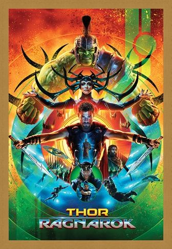 Framed Framed One Sheet - Thor Ragnarok