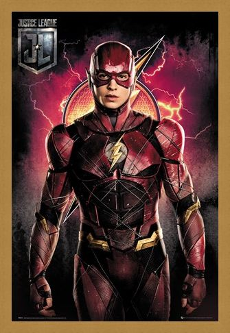 Framed Framed Flash Solo - Justice League