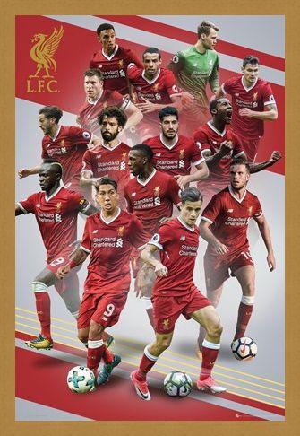 Framed Framed Players 17-18 - Liverpool FC