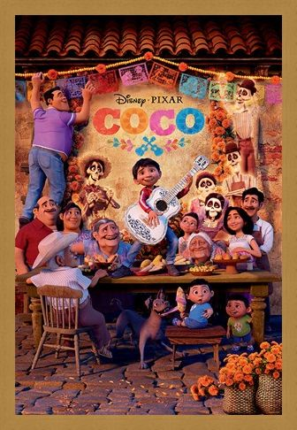 Framed Framed Familia - Coco