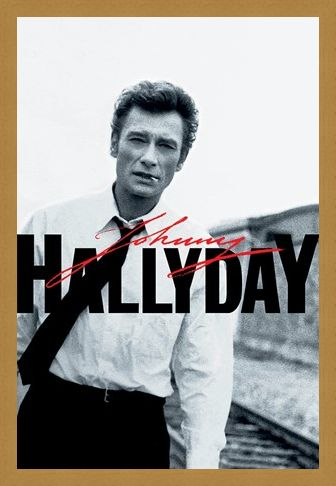 Framed Framed Train Tracks - Johnny Hallyday