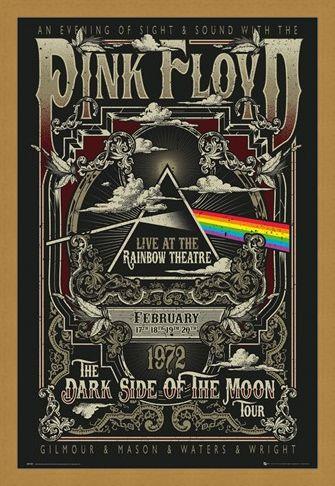 Framed Framed Rainbow Theatre - Pink Floyd