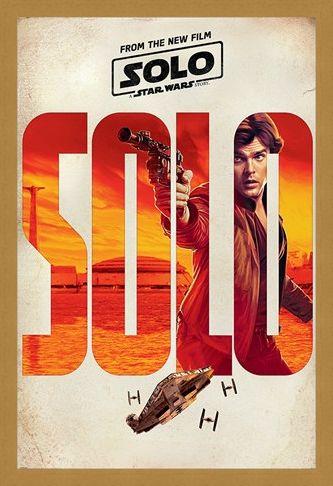 Framed Framed Solo - A Star Wars Story