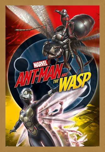 Framed Framed Ant-Man and The Wasp - Marvel