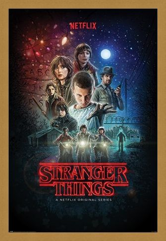 Framed Framed Character Montage - Stranger Things