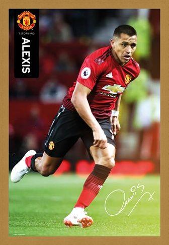 Framed Framed Alexis 18-19 - Manchester United