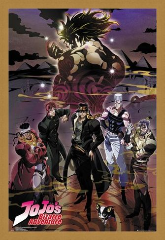 Framed Framed Group - JoJo's Bizarre Adventures
