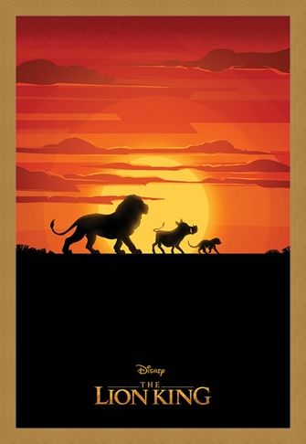 Framed Framed Long Live The King - The Lion King Movie