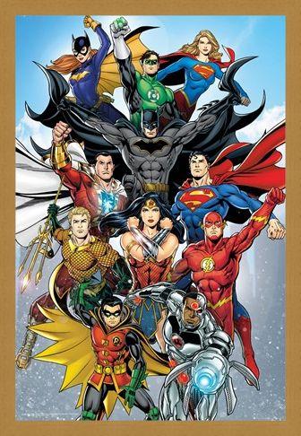 Framed Framed Rebirth - DC Comics