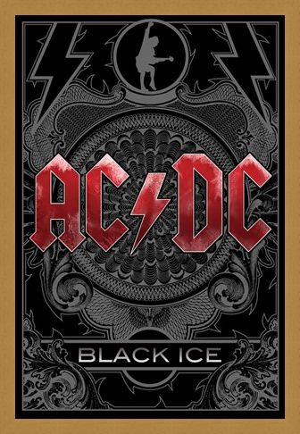 Framed Framed Black Ice - AC/DC