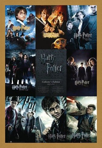 Framed Framed From Boy to Wizard - The Complete Harry Potter