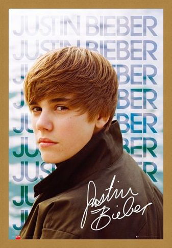 Framed Framed Sidewards Glance - Justin Bieber
