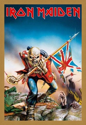 Framed Framed Trooper - Iron Maiden