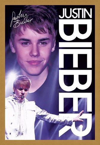 Framed Framed Bieber Live! - Justin Bieber