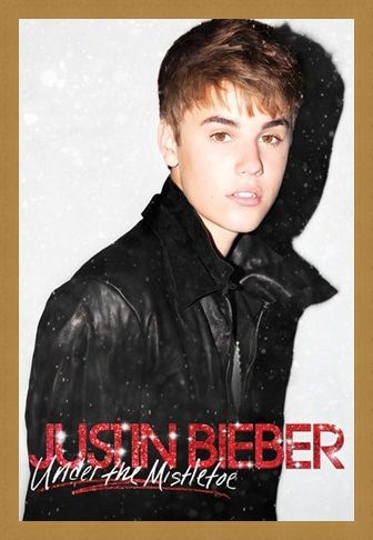 Framed Framed Under the Mistletoe - Justin Bieber