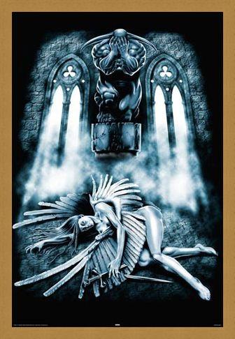 Framed Framed Fallen Angel - Art Worx